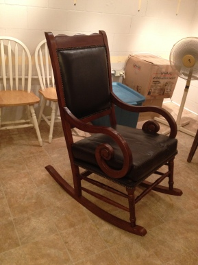 photo of rocking chair