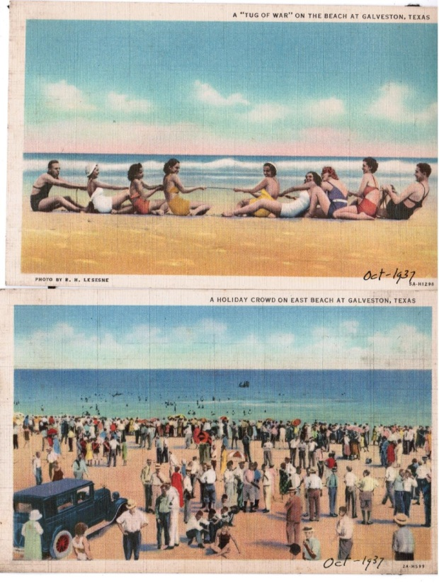 Galveston 1937 beach2