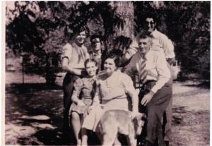 Back-Bob Herbert Harold Front Alberta Georgia Albert 1939