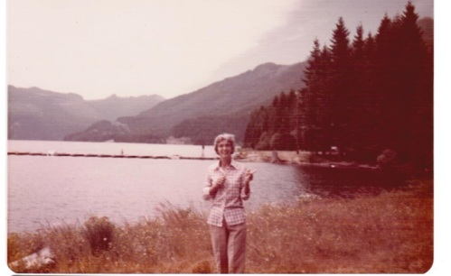 Mom in Oregon 1977