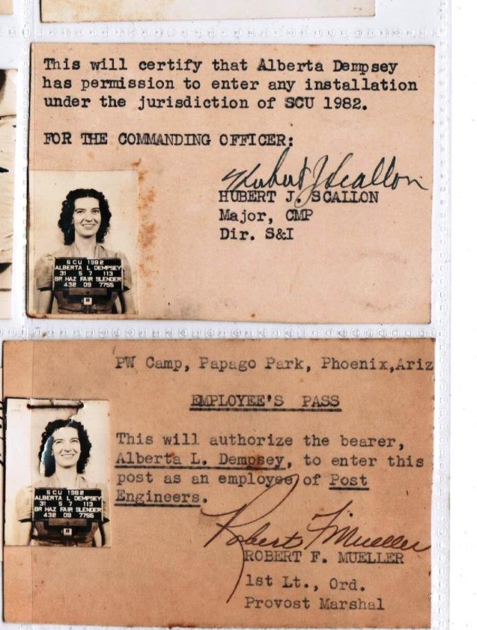 Post pass 1944