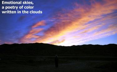 poetry of skies