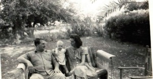 daddy, bobby le, mom 1949