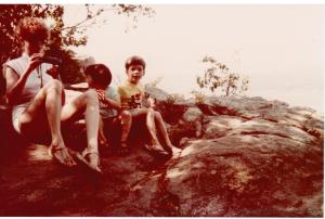 opr6-Mom, Lydia and Robert at Devil's Lake 1980 001