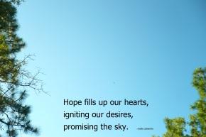 hoping
