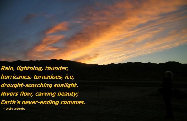 tanka-sunset