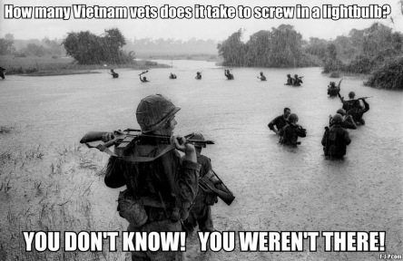 Vietnam Vets Screw Lightbulb Joke ~ Funny Joke Pictures