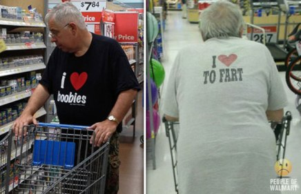 Meanwhile at Walmart ~ Funny Joke Pictures